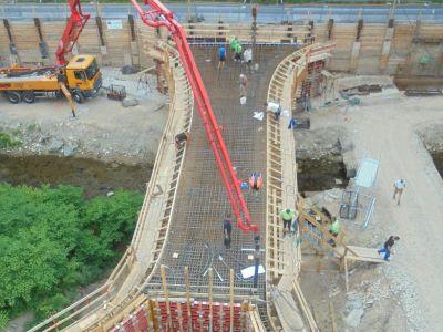 Dohma - Neubau Brücke Protzemühle